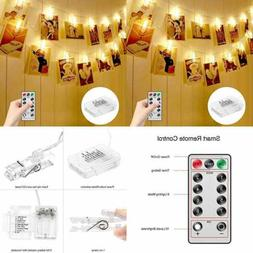Photo Clips String Lights Holder Indoor Fairy For Hanging Pi