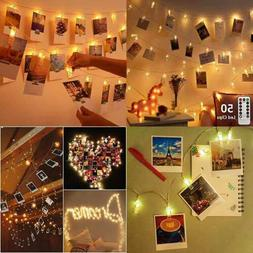 Photo Hanging Clips String Polaroid Lights W For Pictures Ca