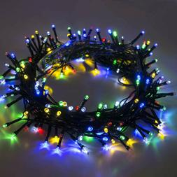 ALEKO Powered Party Decorating Christmas String Lights Solar
