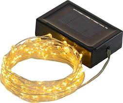 Solar Powered String Lights, 200 LED Copper Wire Lights, Wat