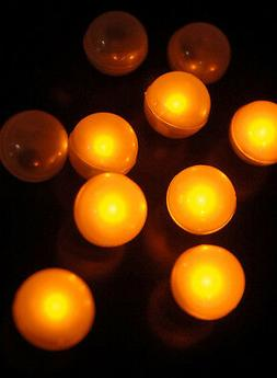 Fortune Products Fairy Berries Amber LED Round Lights 10-Pac