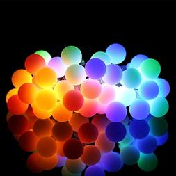 ALOVECO LED String Lights, 14.8ft 40 LED Waterproof Ball Lig
