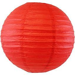 "Just Artifacts 8"" Red Chinese/Japanese Paper Lantern/Lamp 8"""