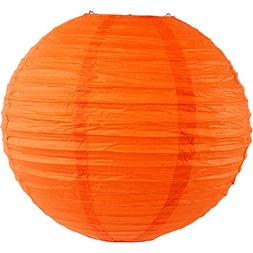 "Just Artifacts 8"" Red Orange Chinese/Japanese Paper Lantern/"
