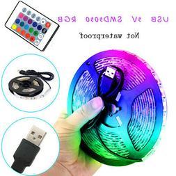 Remote Led String Strip Color Changing Lights Lamps Indoor R
