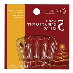 Celebrations Replacement Bulbs 12 V Clear