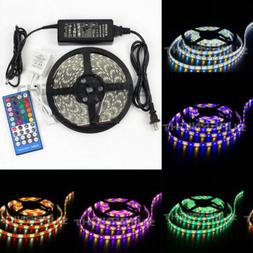 SUPERNIGHT® RGBW 5M 5050 SMD RGB+White 300 LEDs Strip & 40