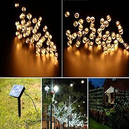 Ucharge S100-2 Solar Lights Outdoor Christmas Led Lights 39f