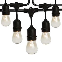 Fulton Illuminations S14 24 Bulbs Outdoor String Lights with