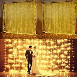 AGPtEK Safety FULL Waterproof Decorative Curtains Lights Sta
