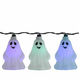 Sienna Set of 10 LED Color Changing Ghost Halloween Lights B