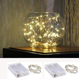Pack of 2 sets LED SopoTek 7ft 20 LEDS Starry Lights Fairy L