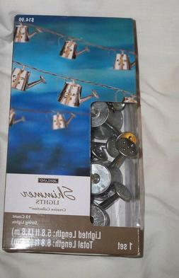 Ashland*Shimmer WATERING CANS*String Lights*10 Count each