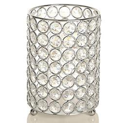 VINCIGANT Silver Decorative Flower Vases Candle Lantern with