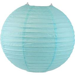 "Just Artifacts 8"" Sky Blue Chinese/Japanese Paper Lantern/La"