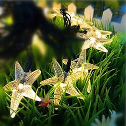 Solar 30 LED String Lights Starfish Warm White Lanterns 20 F