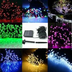 Solar 60/100/200 LED String Fairy Lights Garden Outdoor Part