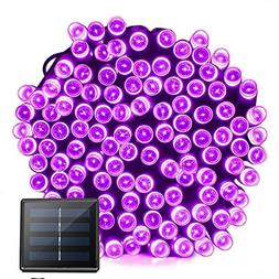 Solar Christmas Lights 72ft 22m 200 LED 8 Modes Solar String