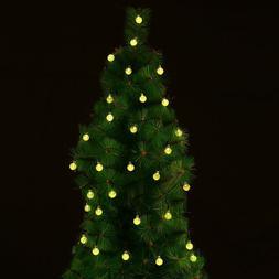 EasyDecor Solar Christmas String Lights 30 LED Ball 21ft War
