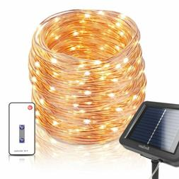 Homestarry Solar Fairy Lights with Remote, IP67 Waterproof O