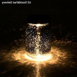AGPTEK Solar Mason Jar Lid Lights Waterproof Led Lamp with H