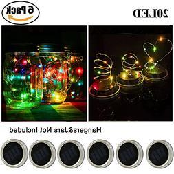 Solar Mason Jar Lights - SurLight Solar String Lights Mason