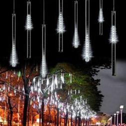 Solar Meteor Shower Lights Solar Waterproof Light String Gar