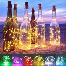 20 LED Bottle Lights Cork Shape Lights for Wine Bottle Starr