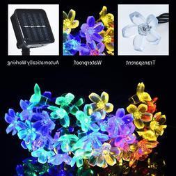 Solar Powered 30 LED String Fairy Lights Garden Outdoor Xmas