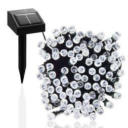 Solar Powered Fairy lights 100 LEDs 55ft 17m for Garden, Pat