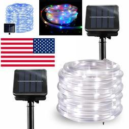 solar powered led mini garden fairy string lights blue outdo