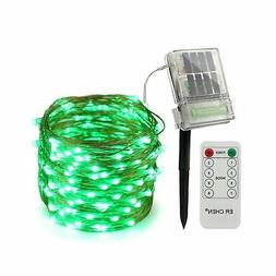 ErChen Solar Powered Led String Lights with Backup Battery P