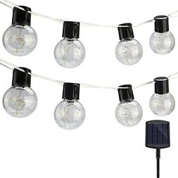 findyouled Solar Powered String Lights with Hanging Sockets,