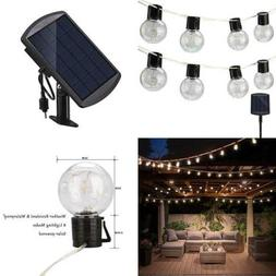 Findyouled Solar Powered String Lights W Hanging Sockets 20