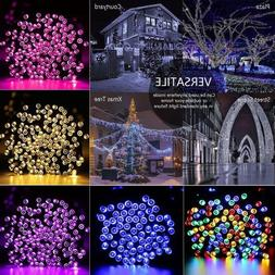 Solar String Lights 100-300 LED Multi Outdoor Garden Party C