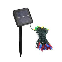 Solar String Lights Colorful 24 Feet 50 LED Fairy Lamp 2 Mod