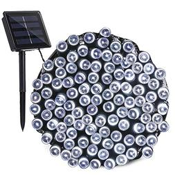 Qedertek Solar String Lights, 72ft 200 LED Fairy Decorative