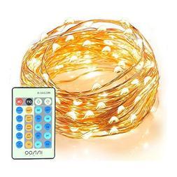 Starry String Lights, 33ft 100 LEDs String Lights with Remot