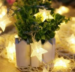 Stars Fairy String Lights Battery Wedding Xmas Party Wedding