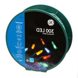 GE StayBright 300-Count 74.5-ft Multicolor LED Miniature Chr