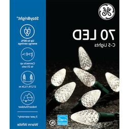 GE StayBright 70-Count Constant Warm White C5 LED Christmas