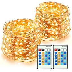 LED String Lights 66ft 200 LEDs TaoTronics Dimmable Festival