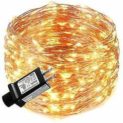 LED String Lights 99ft 300 LEDs Fairy String Lights for Bedr