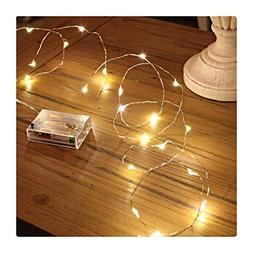 GardenDecor Led String Lights 50 Leds Decorative Fairy Batte