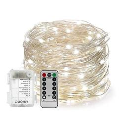 YIHONG Fairy Lights Fairy String Lights Battery Operated Wat
