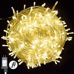 Vinsco String Lights, Plug in 300 LED 100 ft/30M    Decorati