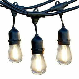 Newhouse Lighting Outdoor LED String Lights with Weatherproo
