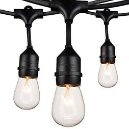 Outdoor String Lights 48Ft Edison Vintage Commercial Grade L