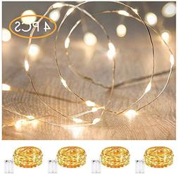 XINKAITE Led String Lights Waterproof – 9.8ft /30 LEDs Fai