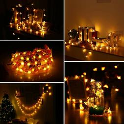 String Lights with Remote Control, LED Waterproof Decorative